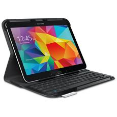 Ultrathin Keyboard Folio Custodia protettiva con Tastiera inegrata per Samsung Galaxy Tab 4 10.1 Layout Italianio