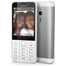 "230 Dual Sim Bianco Display 2.8"" +Slot MicroSD Bluetooth Doppia Fotocamera 2Mpx / 2Mpx - Italia"