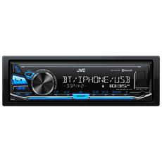 Sintolettore CD KD-X341BT Potenza 4x50W Supporto FLAC / MP3 / WAV / WMA USB / AUX Bluetooth Nero
