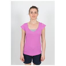 T-shirt Donna Original Doppia Rosa Grigio Xl