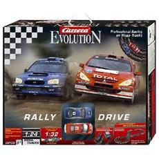 Evolution - Rally - Professional Racing On Megatrack - Subaru Impreza Wrc 2003 Scala 1:32 - Peugeot 307 Wrc 2004 Scala 1:32