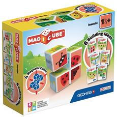 Geomag - Mab18000 - Magicube Insects Con 4 Cubi