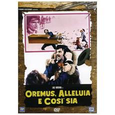 Dvd Oremus, Alleluia E Cosi' Sia
