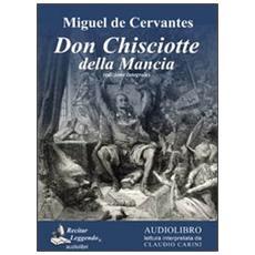 Don Chisciotte della Mancia. Audiolibro. 3 CD Audio formato MP3. Ediz. integrale