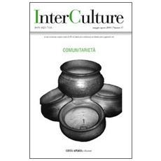 InterCulture. Vol. 17: Comunitarietà.