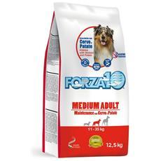 Crocchette Per Cani Forza 10 Medium Mantenimento Cervo E Patate 12,5 Kg