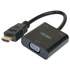 CUC Exertis Connect 051248 HDMI VGA Nero cavo di interfaccia e adattatore