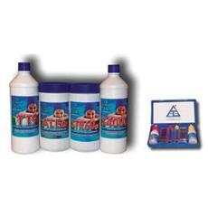 Kit per la Manutenzione Piscina Cloro Test per Cloro e Ph Correttore Ph