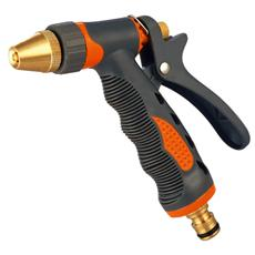 Pistola per innaffio in metallo manico antiscivolo Mod. Lusso Papillon