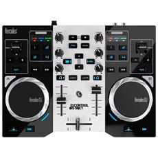 Mixer per DJ Instinct Serie S colore Grigio