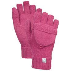 Tussock Guanti Senza Dita Donna (taglia Unica) (rosa)