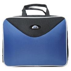 "6606103 13.3"" Valigetta ventiquattrore Nero, Blu borsa per notebook"