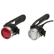 Led Lenser B2R-9024-SET Illuminazione posteriore + Illuminazione anteriore (set) LED illuminazione bicicletta