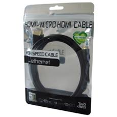Cavo Hdmi / Micro Hdmi Tablet Cable 2 Mt