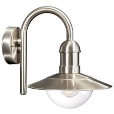 Lampada Radom Acciaio Inox 1 X 60 W 230 V