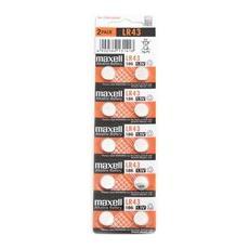 Batterie Lr43 Confezione 10pz Batteria Bottone Lr43 775012.00. cn