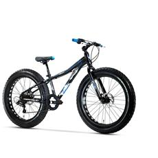 Fat Bike Lombardo Pinerolo 24 Ty21 Nero Blu Opaco