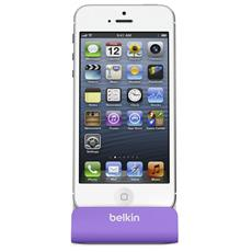 Charge + Sync Dock for iPhone 6/5/5s purple F8J045BTPUR