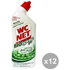 Set 12 Bioigiene Gel 700 Ml. Detergenti Casa