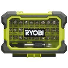 Box Rinforzato Ryobi Cacciavite Bit 32 - Portainserti Per Breve Rak32msd Fissaggio