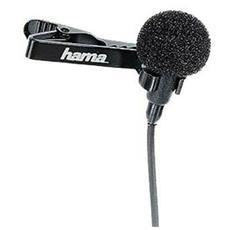 LM-09 Lavalier Microphone Cablato Nero