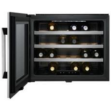 Cantinetta Vino ERW0670 da Incasso Classe A+Capacità 24 Bottiglie Capacità Netta 54 L Colore Nero