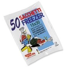 Freezer Busta 15x30 X 50 Pz - Avvolgenti E Sacchetti Alimenti