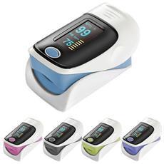Misuratore Di Ossigeno Portatile Da Dito Pulsossimetro Ossimetro Saturimetro Fingertip Oximeter Colore Casuale