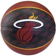 2015 Nba Team Size 7 Rubber Basketball - Heat Rubber