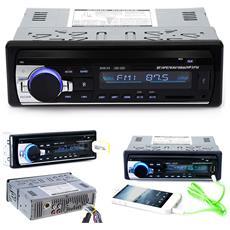 Bluetooth Car Stereo Audio In-dash 1 Din Fm Aux Vivavoce Usb Mp3 Radio