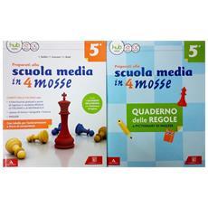 Preparati Alla Scuola Media In 4 Mosse 5a + Quaderno Delle Regole E Pictionary Di Inglese