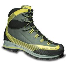 LA SPORTIVA - Scarpe Trekking Uomo Trk Leather Gtx Taglia 41 - Colore   Grigio   verde b4cce6d8be7