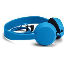 Cuffie con Microfono Cablato WH-520 Colore Ciano