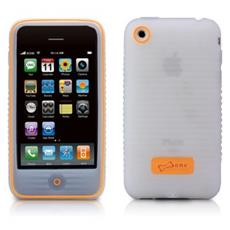 PH08031-W Cover Arancione, Bianco custodia per cellulare