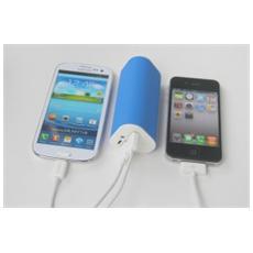 Batteria per Smartphone Colore Blu e Bianco