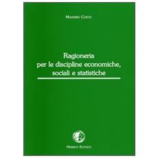 Ragioneria per le discipline economiche, sociali e statistiche