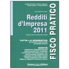 Redditi d'impresa 2011
