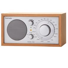 Model One Radio da Tavolo AM / FM ingresso AUX Colore Ciliegio / Silver