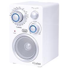 Radio Portatile Fm Cuba Ra 742 T Bianco