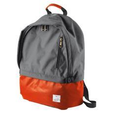 """Zaino Impermeabile per Laptop fino a 16"""" Grigio / Arancione"""