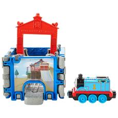 DGK92 - Thomas And Friends - Take-N-Play - Stazione Cubo #01