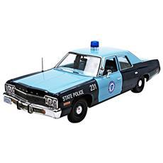 Amm1023 Dodge Monaco 1974 Massachusetts State Police 1:18 Modellino
