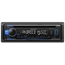 Sintolettore CD KDC-110UB Potenza 4x50W Supporto MP3 / WMA / WAV / FLAC / USB Nero