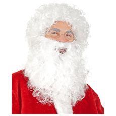 Barba E Parrucca Da Babbo Natale Taglia Unica