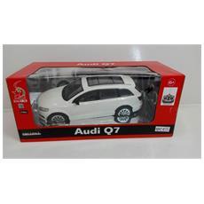 Auto 1:16 Audi Q7 Modellismo Bianca Radiocomandata 27mhz