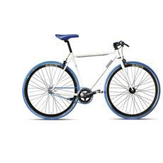 Bici Scatto Fisso Montana Velocetta Pista 28 - Bianco