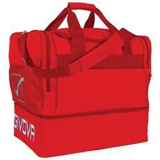 Borsa Big 10 Givova Di Colore Rosso Misura 52x35x48 Cm