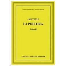 Aristotele. La politica. Libro II