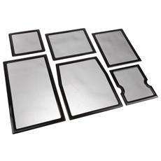 Staubfilter Set für Cooler Master HAF XM - schwarz / sch