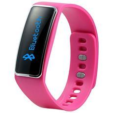 TX-39 Braccialetto Fitness Elegance connessione Bluetooth per Attività Fisica e Sonno Android e iOS - Rosa